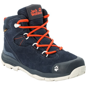 Jack Wolfskin MTN Attack 3 LT Texapore Mid Shoes Kids dark blue/orange